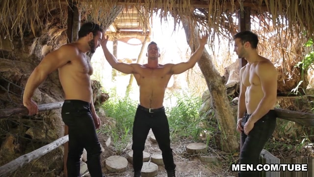 Gabriel Clark & Jessy Ares & Paddy OBrian in Howl Part 2 - DrillMyHole Hot brunette babes lesbian fuck