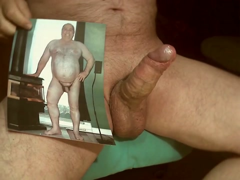 Tribute for a big fat pig - cum all over his body Cum filled cunt captions