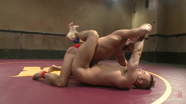 Jesse Cut-Throat Colter vs Dirk The Claymore Caber Male submission domination