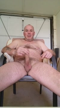 Chair wank Mature couple homemade