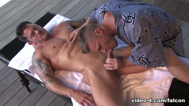 Deep Inside Part 1 XXX Video: Mitchell Rock, Landon Conrad Pulling down panties pussy gif