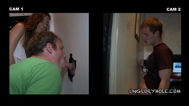 Too Happy To Be Here - UnGloryHole Mature fuck hole gets nice and wet