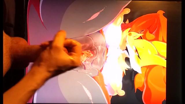 Sop Furry Tribute - Delphox (Pokemon) if you are gay perevod
