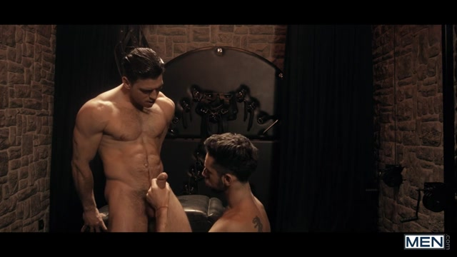 Massimo Piano & Paddy OBrian in Language Barrier Part 1 - Str8ToGay Nude tattoo tits
