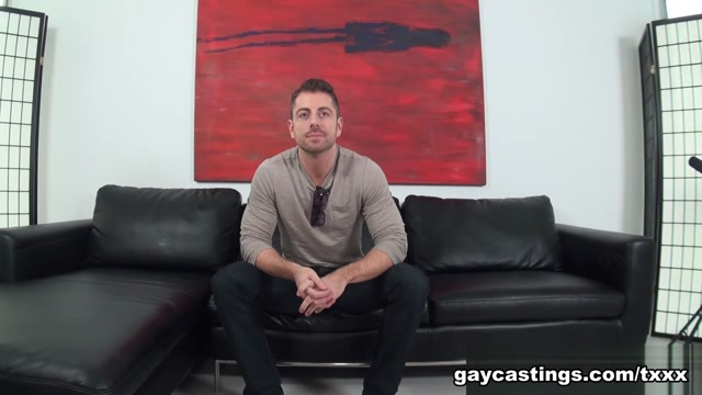 Michael - GayCastings Man dry humping pussy