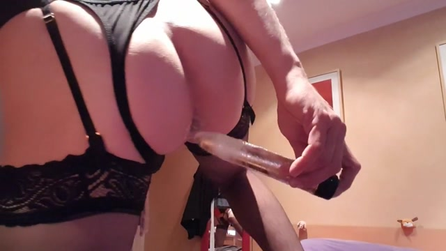 Hot crossdresser masturbating 4 - the tease. 1 white man and 3 women sex