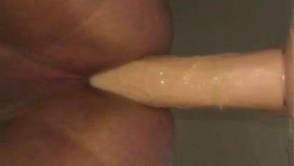 9 Inch dildo balls deep Sexy black women getting fucked
