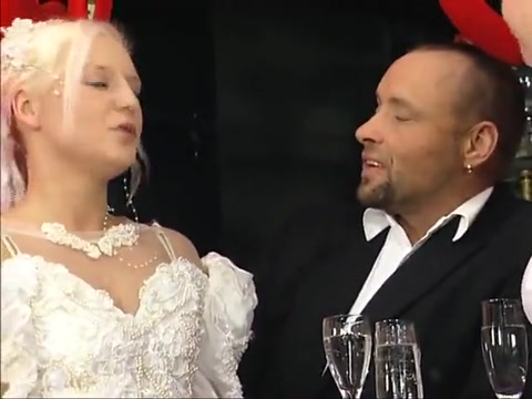 German Pee 3 - The piss wedding too big for tight girl