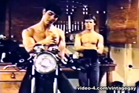 VintageGayLoops Video: Take it Like a Man fucks ass pussy men