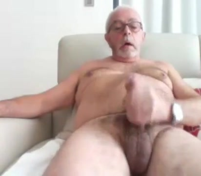Grandpa stroke 3 White chubby ass