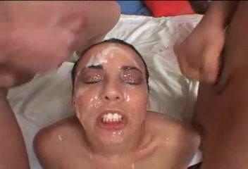 Delilah Powerful Creamy Bukkake Natural unshaven women peeing free