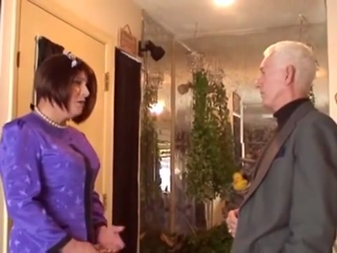 Old Man with Crossdresser Latex japanese girls porn