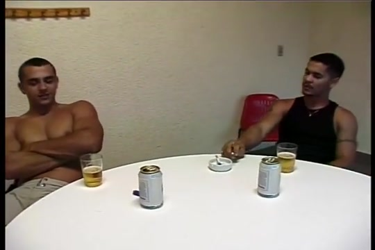 Brazilian anal and facial Co-ed tandem pissing contest