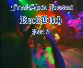 Rock bitch fist fuck