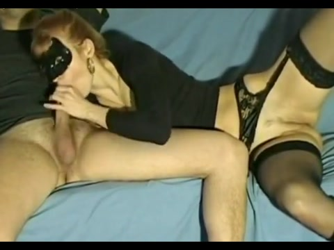 Masked woman great blow won t you put that pussy on me
