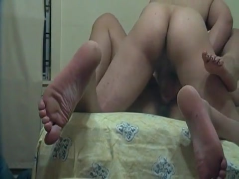 Ass pluged and missionary fucked wife