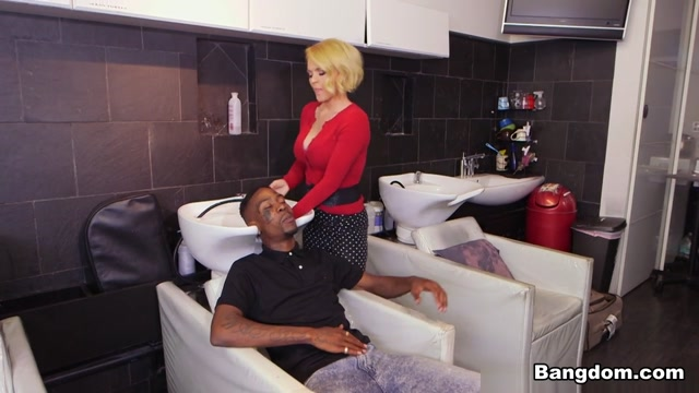 Krissy Lynn in Hair Stylist Anal At Hair Studio - BlacksOnMoms