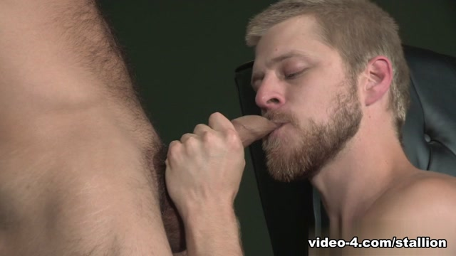 Logan Stevens & Adam Ramzi in Balls Deep Video Write naughty stuff on each other