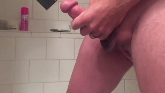 Jerking my big cock off for slow motion cumshot Cruel fetish fisting