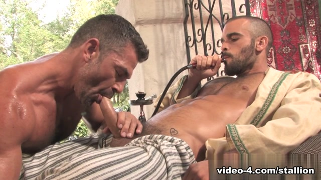 Damien Crosse & Bruno Bond in Arab Heat, Scene #04 difference between young and old souls