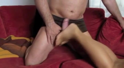 Nylons Foot Fetish B08 Family dinner leads to threesome sex