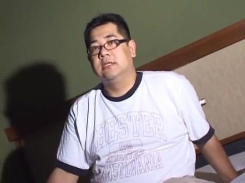 Mature Jap daddy time Handjob natural tits