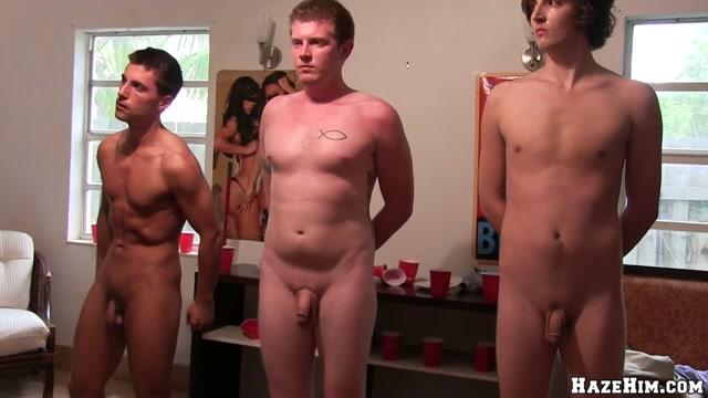 Men Worship Cock - HazeHim Darlings delight hunk with sexual pecker sucking