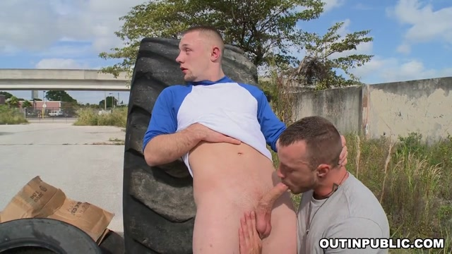 Stranded At The Station - OutInPublic flashing in public places