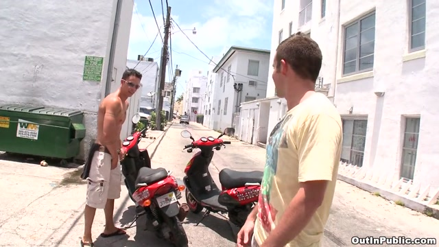Scoring On Scooters - OutInPublic Naked girls and babes