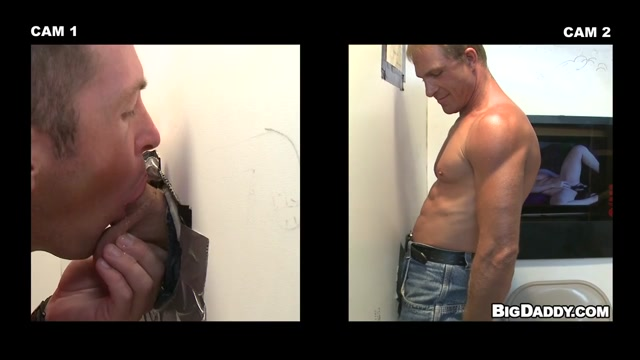 Troy Takes A Spin At The Gloryhole - UnGloryHole Cannibal Ferocity