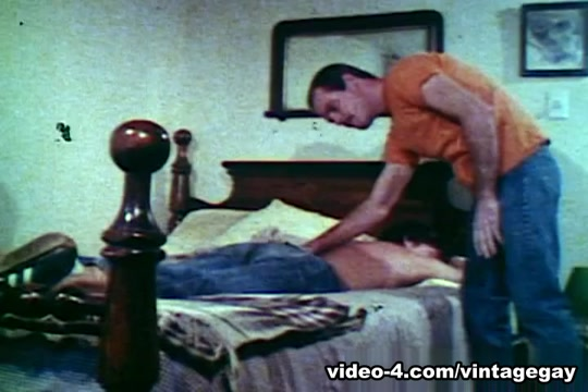 VintageGayLoops Video: A Rough Day Mutual masturbation between consenting adults