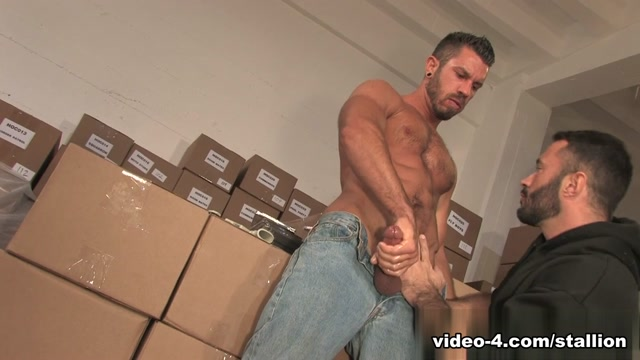 Wilfried Knight & Damien Stone in Hes Got A Big Package, Scene #03 Huge ass big tits older cougar interracial