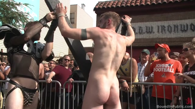 Cass Boltons Folsom Street Fair Orgy Continues! Teen atm threesome compilation