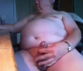 Grandpa stroke on cam 8 Farting during fucking