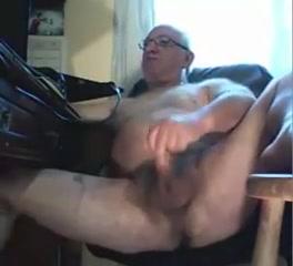 Grandpa stroke on cam 1 Mature family sex videos