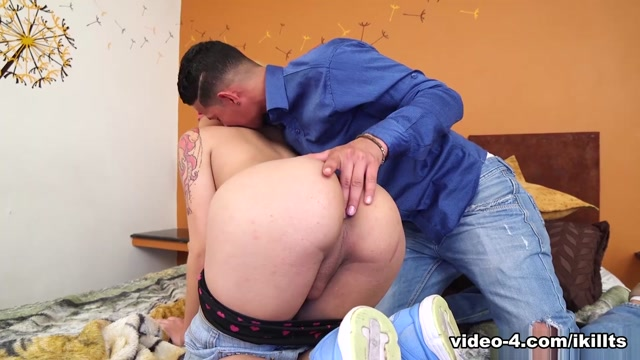 Andrea Mora in Drill my Ass - IKillItTs two girls share cum