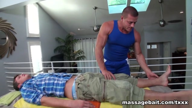 Slippery Happy Ending - MassageBait Hot milf deep fucked hard