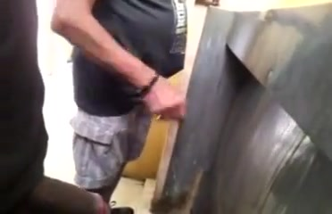Old man in public toilet girl gets fucked in a car