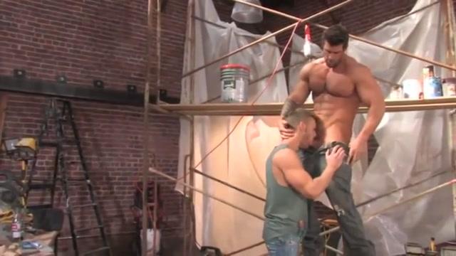 Amazing gay scene with Sex scenes Zeb atlas 3some