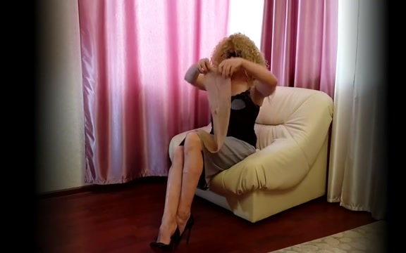 Tranny in pantyhose male support of breast cancer screening