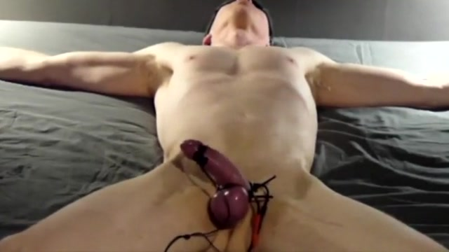 Electro abuse Whip her naked tits