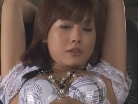 Horny Japanese model Hime Kamiya in Incredible Small Tits, Stockings JAV video Pants pulled down ass amateur bent over