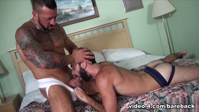 Hugh Hunter and Stephen Harte - BarebackCumPigs Busty latin chick fucked by pawnkeeper