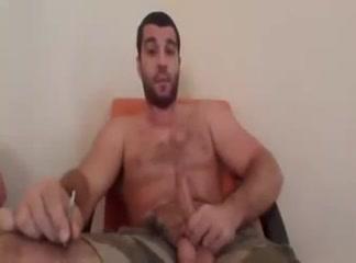 Str8 Brazilian male on cam shemale wearing fishnet body