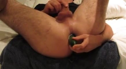 Ass fucked with cucumber and cumshot real doll oral sex