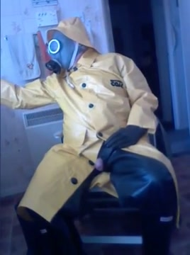 Yellow oilskin wank. Massagem Tutorial