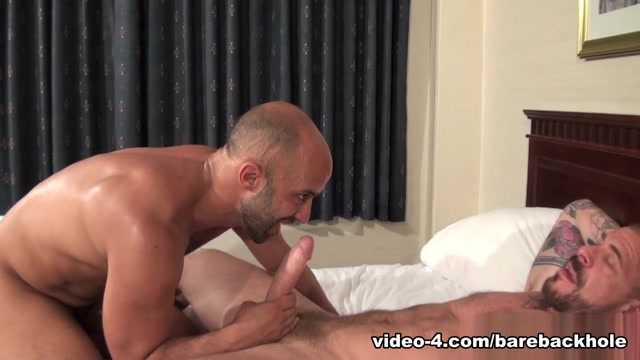 Rocco Steele and Igor Lucas - BarebackThatHole Stories of girls with no panties on