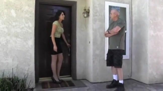 Woman Anal tampon training
