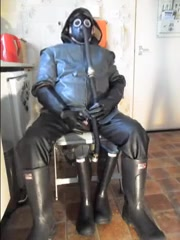 More rubber wanking. Take nude photos of wife