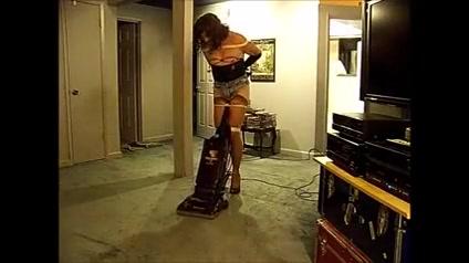 TV maid: vacuuming free cartoon celebrity sex video